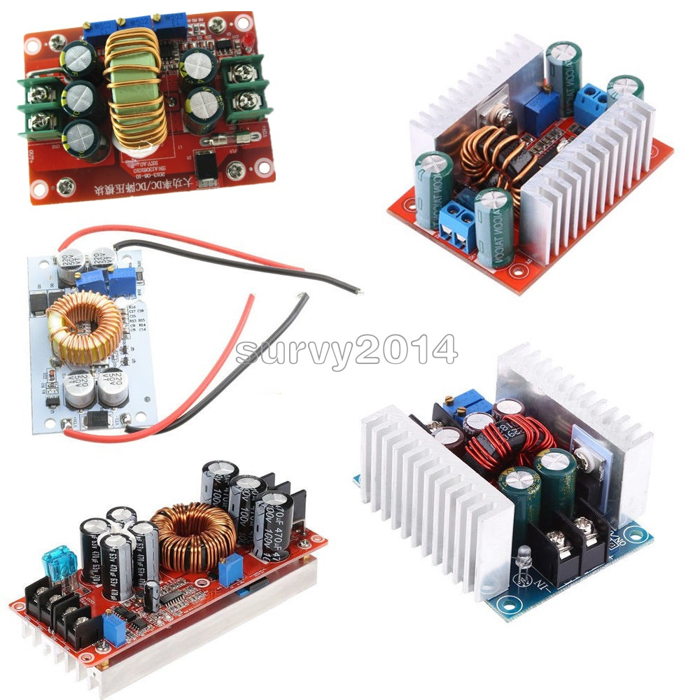 Dc Converter 10 12 15 20a 150 250 300 400 1200w Step Up Down 12v To 20v Circuit Wiring Buck Boost