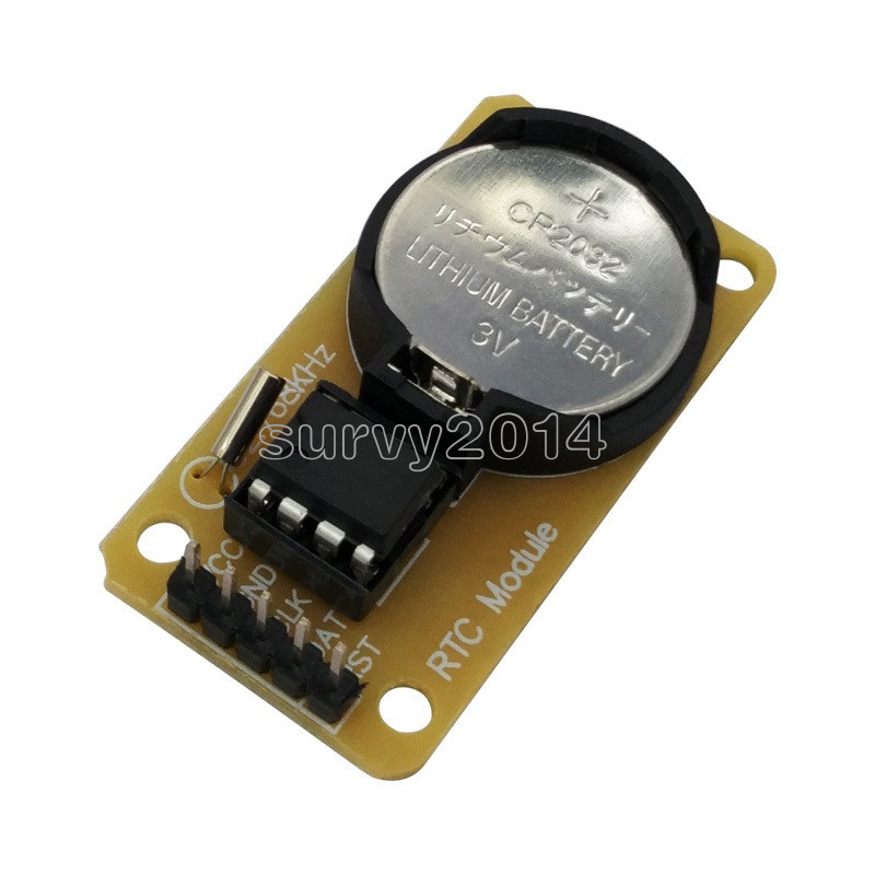 10PCS RTC DS1302 Real Time Clock Module For Arduino AVR ARM PIC than DS1307 NEW