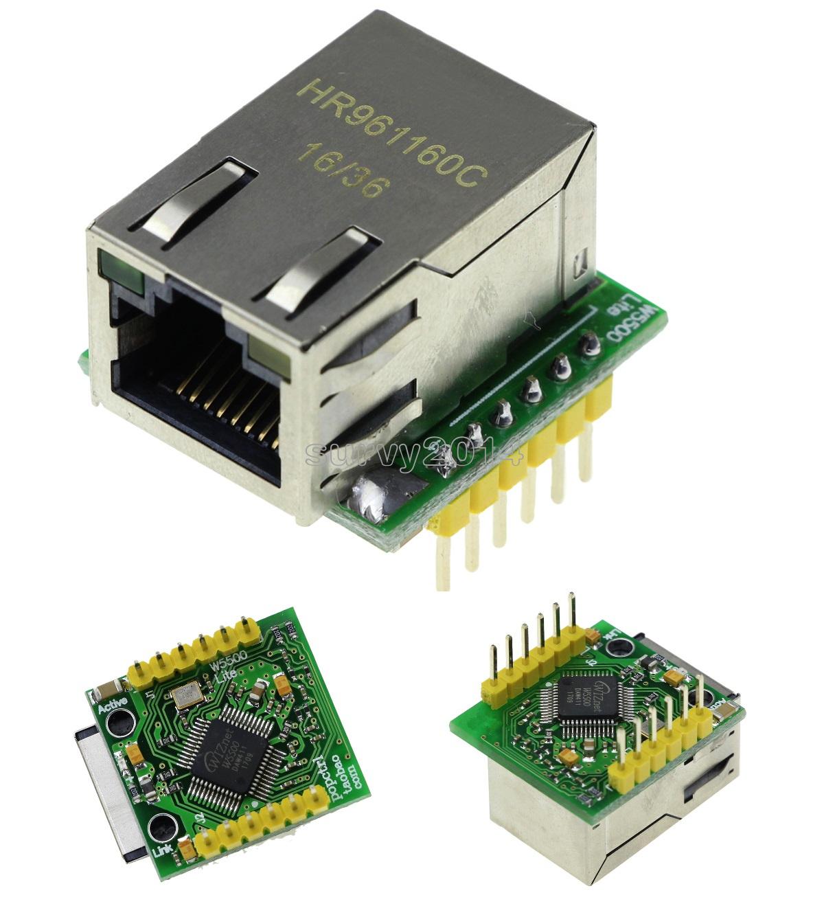 USR-ES1 ENC28J60 W5500 Chip SPI to LAN// Ethernet Converter TCP//IP Module NEW