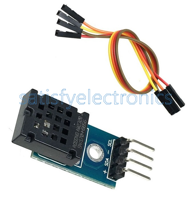 DHT12 AM2320 Digital Temperature/&Humidity Sensor Single Bus I2C Replace AM2302
