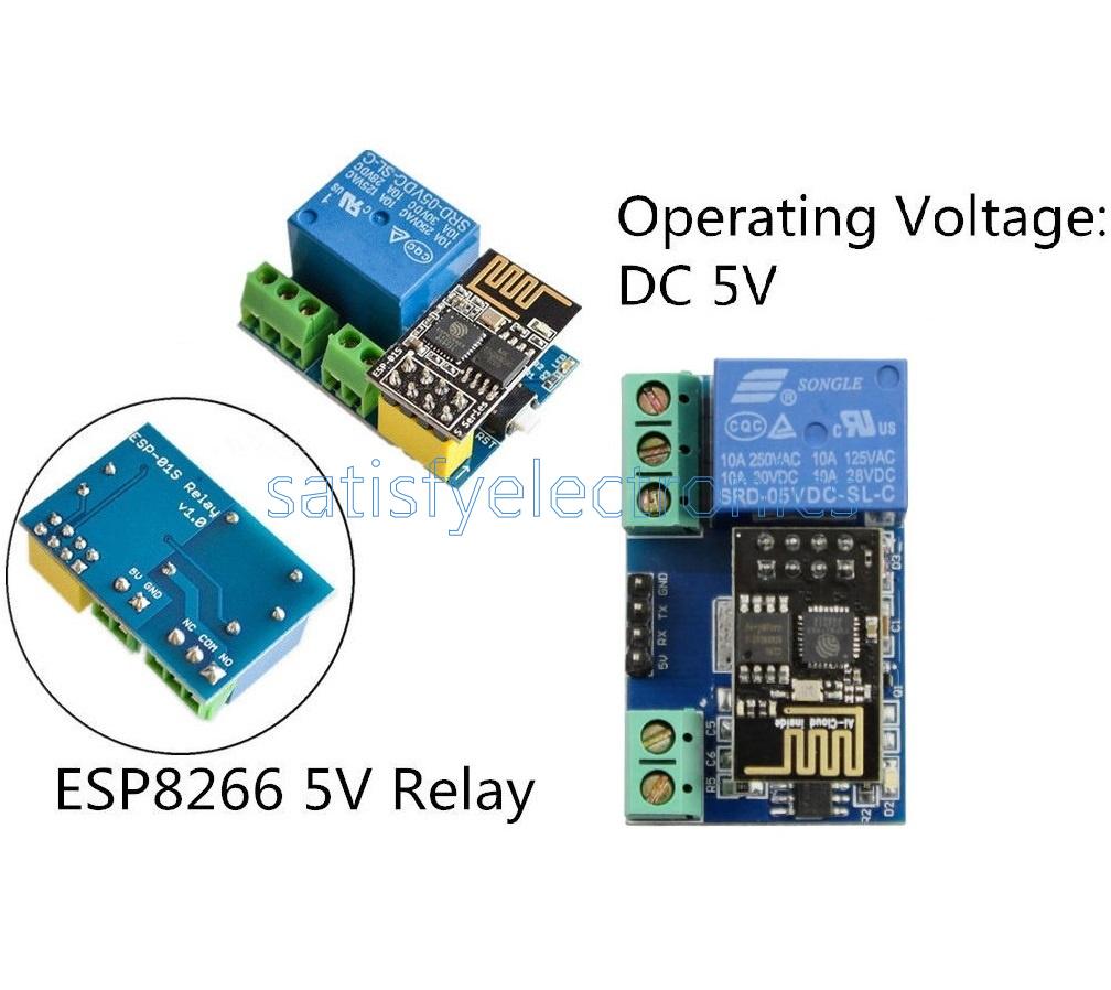 ESP8266 5V Wifi Relay Module TOI APP Controled For Smart Home ESP-01S K9