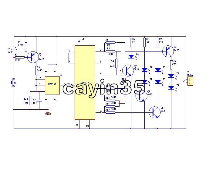 Fine Electronic Dice Cd4017 Ne555 Diy Kit 5Mm Red Led 4 5 5V Electronic Wiring Digital Resources Biosshebarightsorg