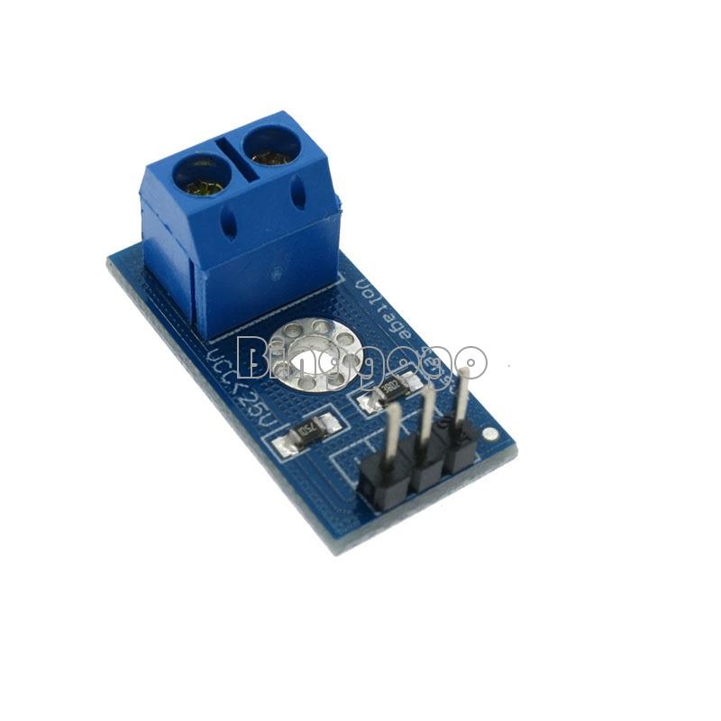 DC 0-25V Mini Spannungssensor Voltage Sensor Modul für Arduino Mikrocont