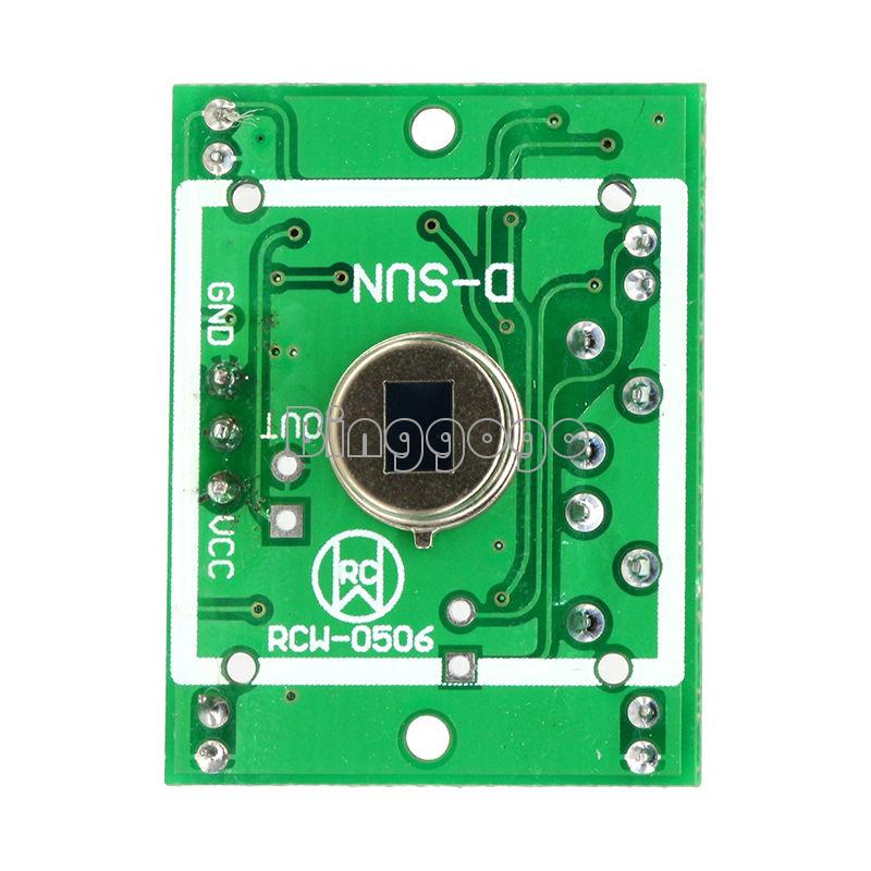 HC-SR501 PIR Infrarot Bewegungsmelder Motion Sensor Modul Arduino Raspberry Pi