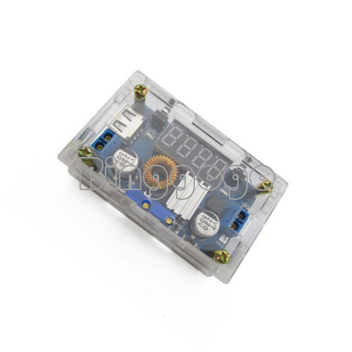 5A CC CV LED-Laufwerk Lithium-Ladegerät Power Step-Down-Modul USB Voltmeter AB