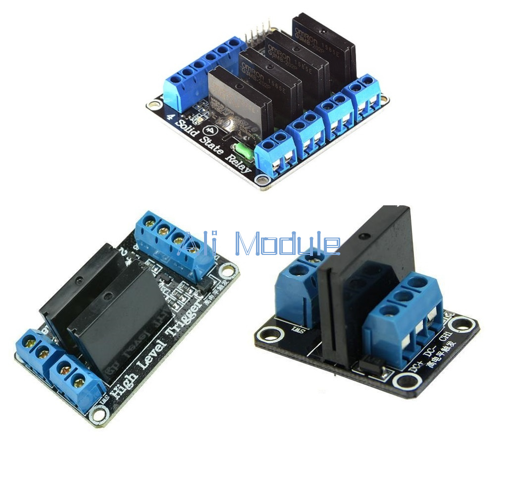 1pcs 5v 4 Channel OMRON SSR G3MB-202P Solid State Relay Module For Arduino