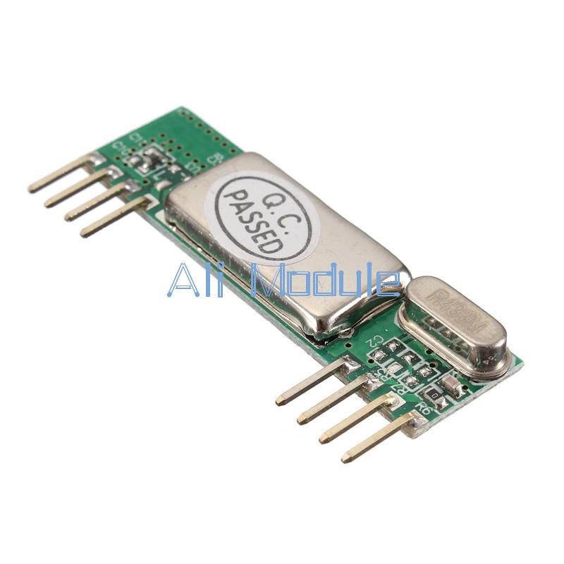 5PCS 433Mhz  RXB6 Superheterodyne  Wireless Receiver Module for Arduino//ARM//AVR