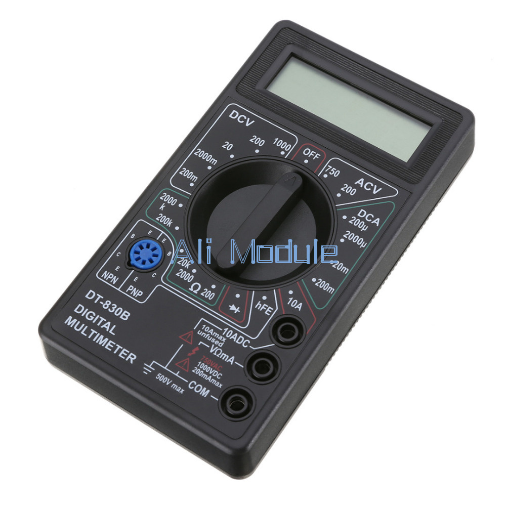 Dt 830b Digital Multimeter Ac Dc Voltmeter Ohmmeter