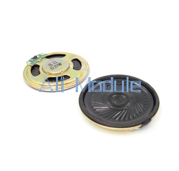 2Pcs DZ241 Horn 8ohm 0.5W Small Trumpet 50mm Diameter Loudspeaker Horn 8Ω