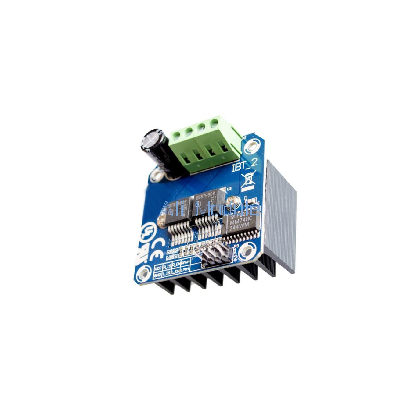 Double Bts7960b Dc 43a Stepper Motor Driver H Bridge Pwm For Arduino Driving Circuit Smart Car A