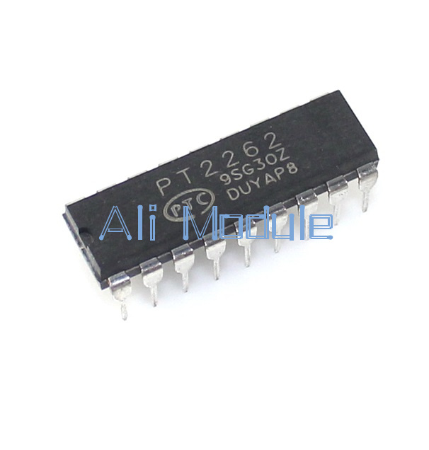 1PCS PT2262 DIP-18 PTC Remote Control Encoder NEW
