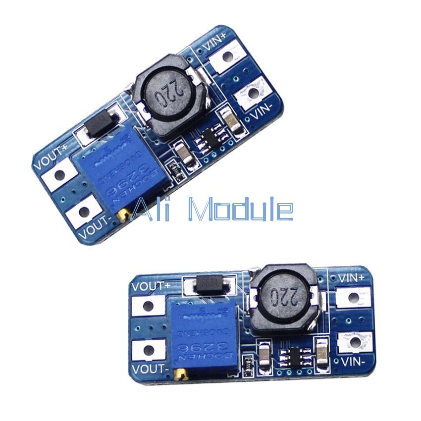10PCS MT3608 DC-DC Step Up Power Apply Module Booster Power Module 2A Output