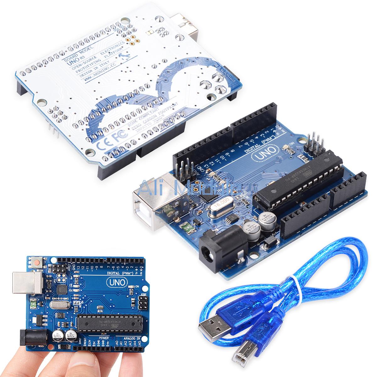 UNO R3 ATmega328P ATMEGA16U2 Board For Arduino Compatible ...