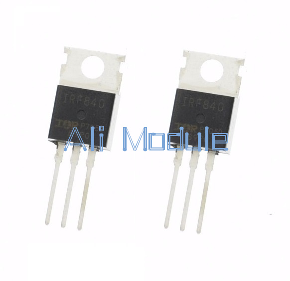 20PCS IRF840N N-channel 8A 500V MOSFET TO-220 IR Transistor HIGH QUALITY