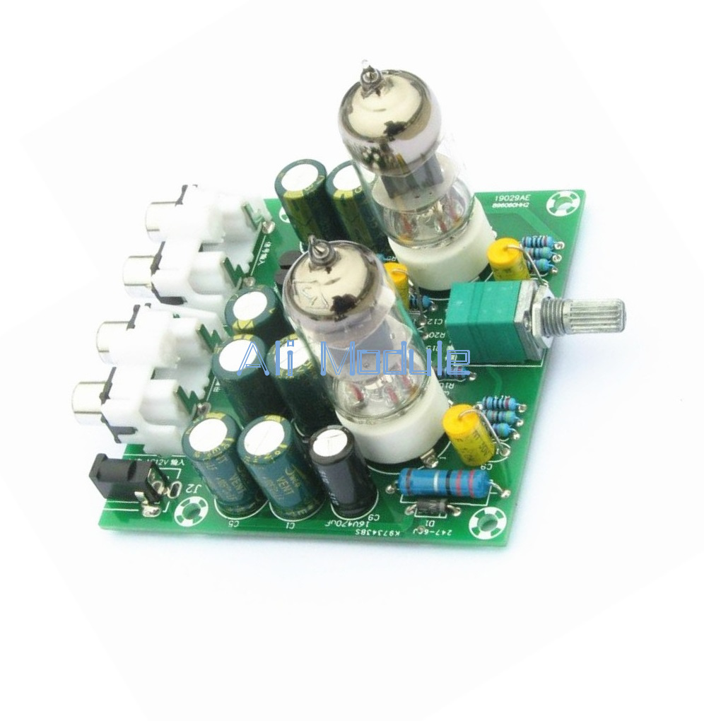 Details about 6J1 Valve Pre-amp Tube PreAmplifier Board Bass on Musical  Fidelity X10-D circuit
