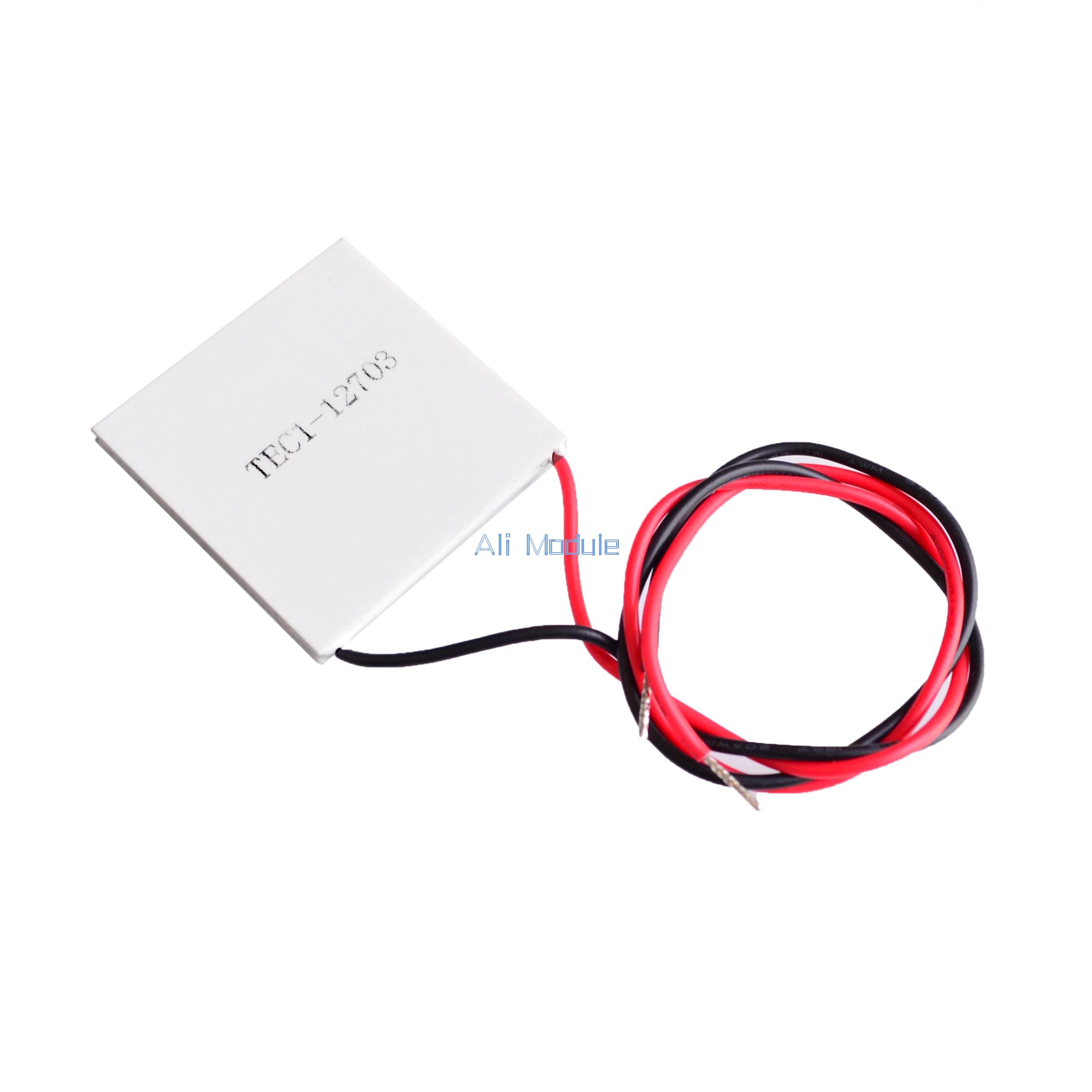 TEC1-12703 Heatsink Thermoelectric Cooler Cooling Peltier Plate Module