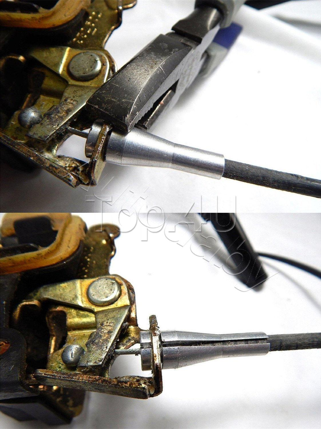 Ford F Series Ext Cab Rear Door Latch Cable Repair F150