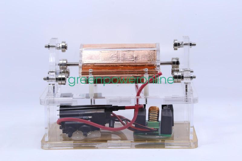 Magnetic Suspension High Voltage Electrostatic Motor Educational Toy ST21 G