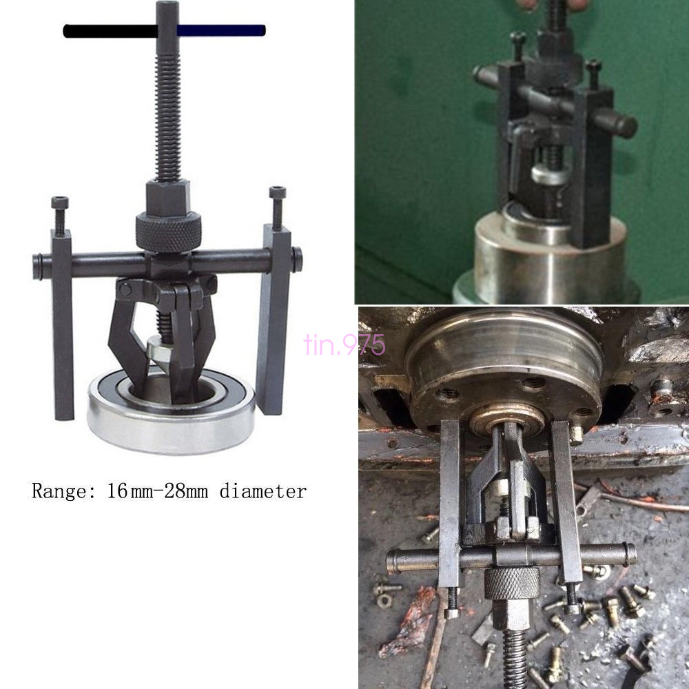 Three jaw bearing puller : Black pro diy jaw pilot bearing puller car bushing gear