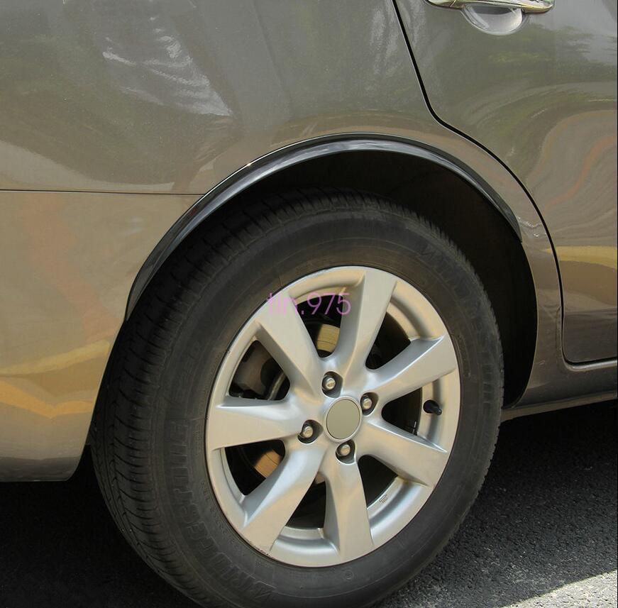 Ultra Soft Car Fender Covers: 2x Car Wheel Arch Trim Fender Flare Wheel Eyebrow