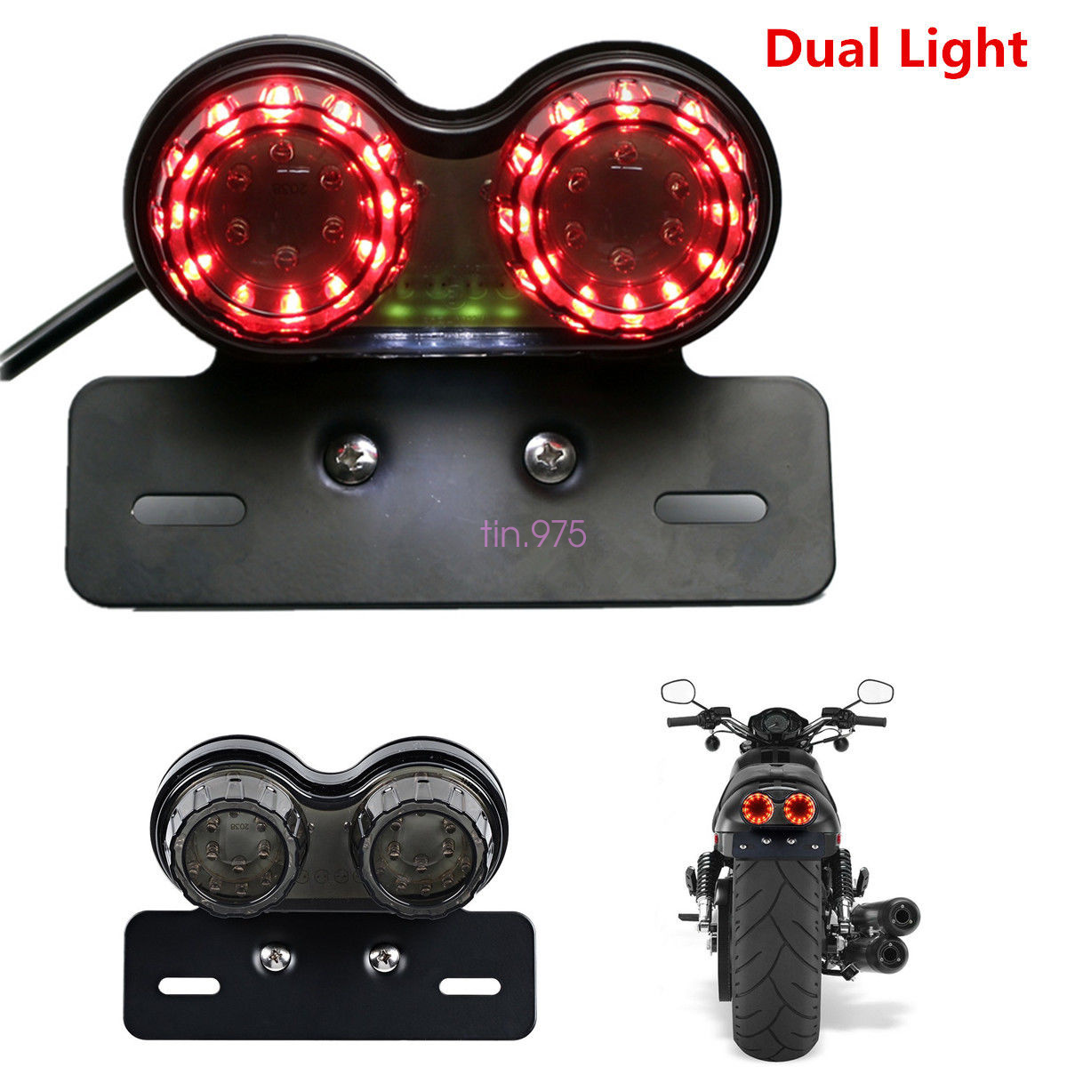 how to wire 3 lights to one switch diagram how to wire brake lights and turn signal motorcycle led twin dual tail turn signal brake license