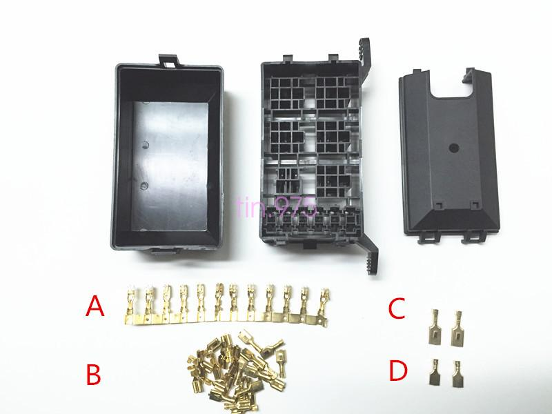 3792203305 auto car fuse relay holder box relay socket 6 relay 5 road the Automotive Relay Box at panicattacktreatment.co