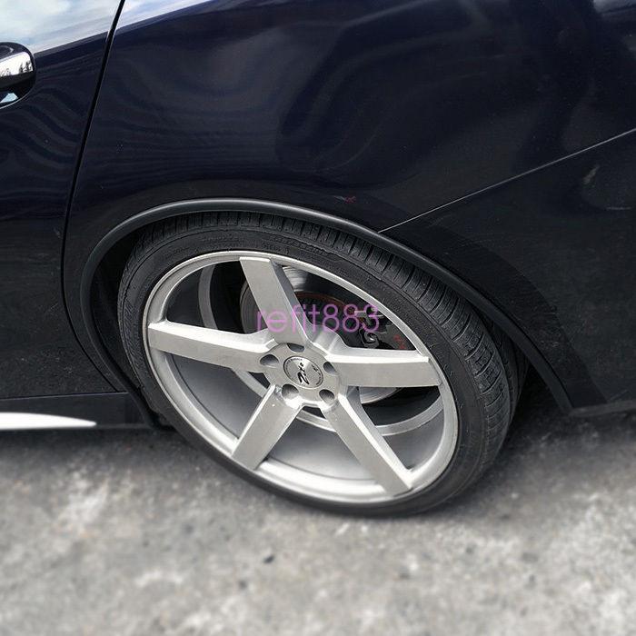 118'' 3M Car Fender Flare Extension Wheel Eyebrow