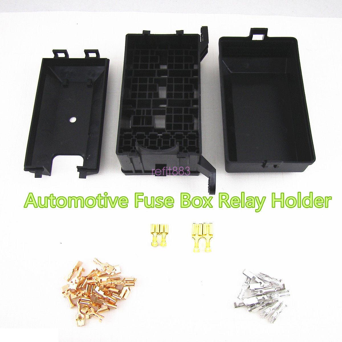 Fuse And Relay Box For Automotive : New black car vehicles relay road box fuse
