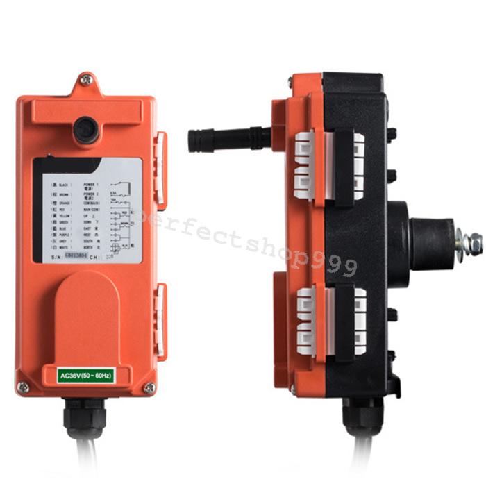 Industry Transmitter Amp Receiver Hoist Crane Radio Wireless