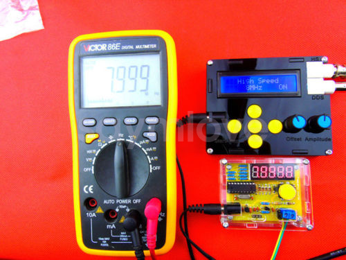 Diy Frequency Counter : Diy kits hz mhz crystal oscillator tester frequency