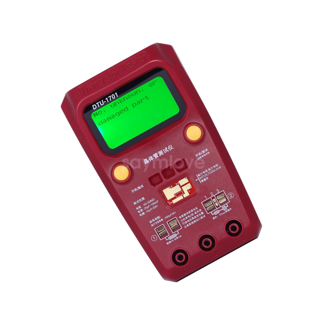 Esr Meter For Batteries : New esr capacitance ohm meter capacitor transistor tester