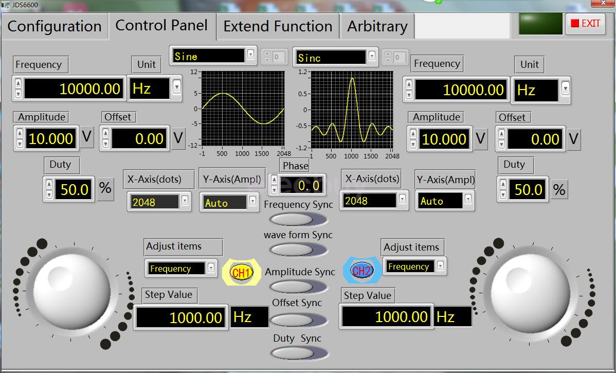 New 15mhz Lcd Display Dual Chanel Arbitrary Wave Dds Function Signal Audio Generator Freeware 2866353594