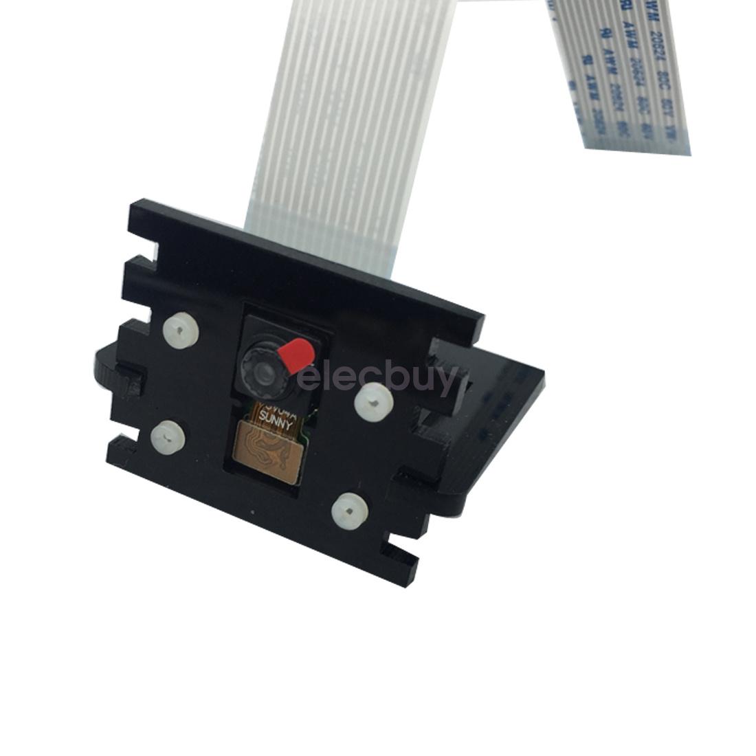 Red Blue Black Adjustable Camera Mount Holder Mini Stand Bracket F Raspberry Pi