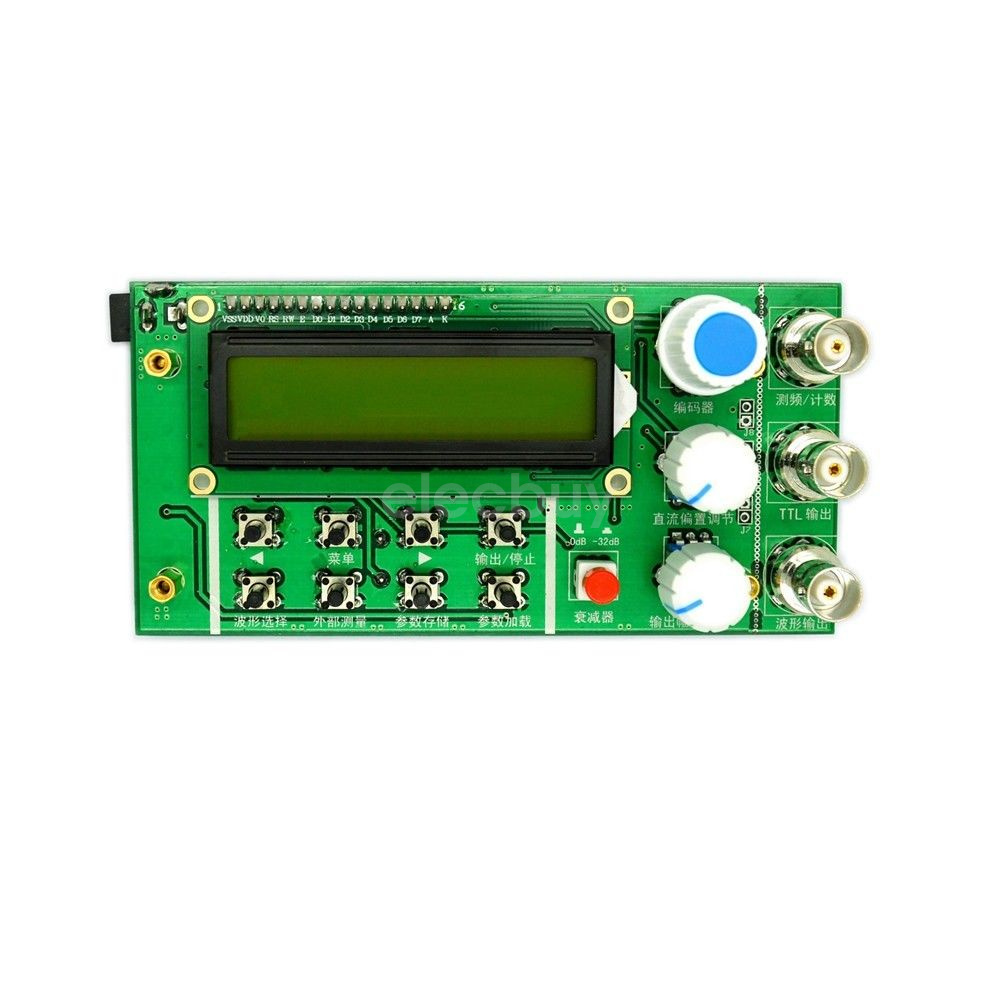 10mhz Dds Function Signal Generator Frequency Counter Square Wave Circuit Sweep Bnc Ttl