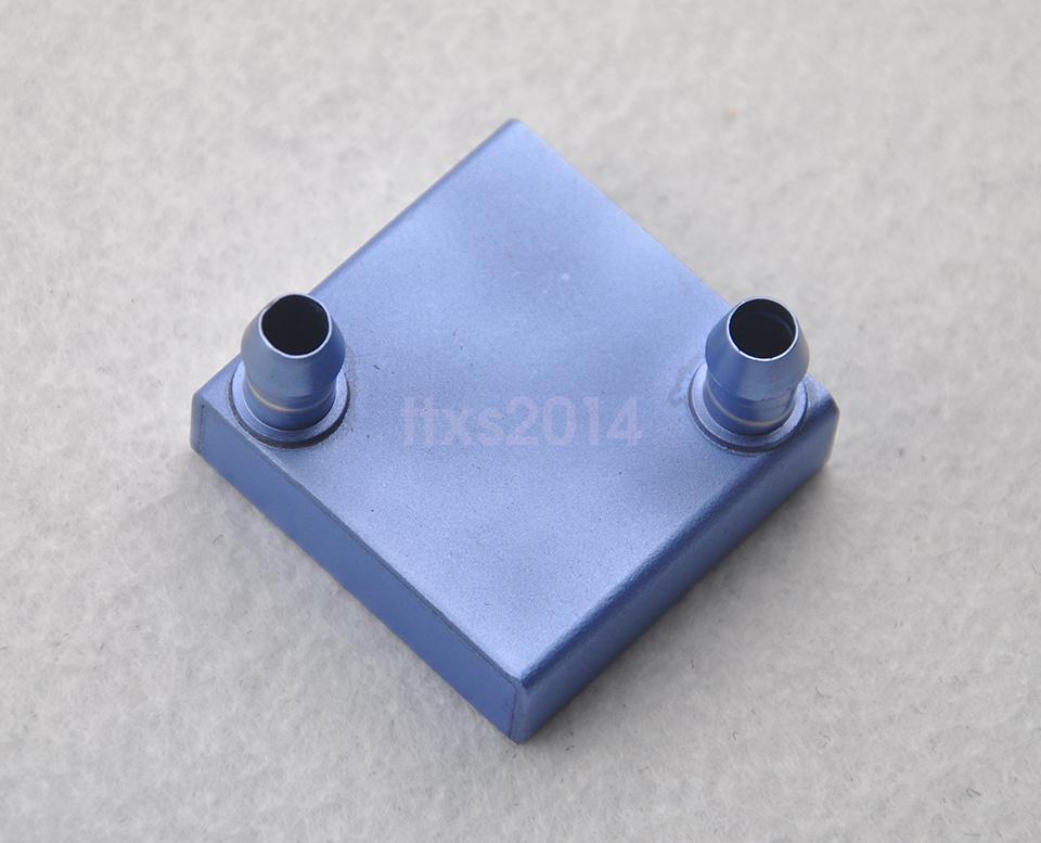 5pcs 40*40*12mm Aluminum Water Cooling Block for CPU Graphics Radiator Heatsink