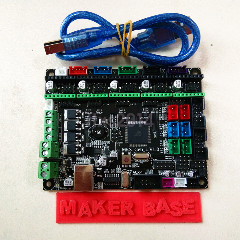 New MKS Gen-L 3D Printer Controller Board Compatible With
