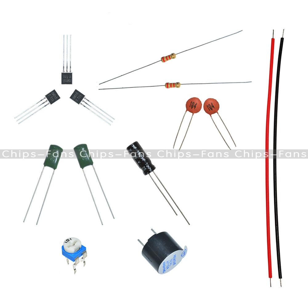 1pcs diy kit simple metal detector metal locator