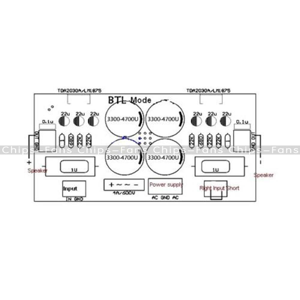 Amplifier Tda2030 Ne5532 595x354 Schematic 21 Audio Tda Circuit
