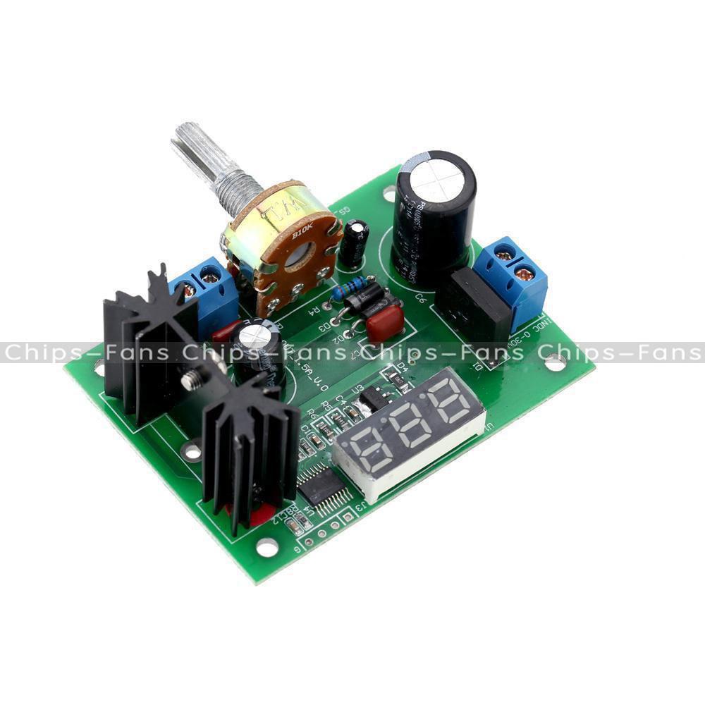 Lm317 speed control adjustable regulated step down module for Lm317 motor speed control