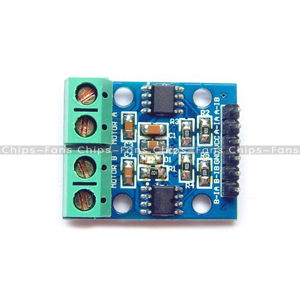 2pcs L9110 H Bridge Stepper Motor Dual Dc Motor Driver