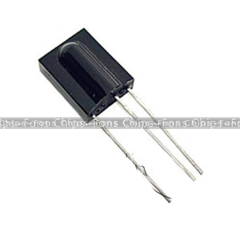5Pcs TSOP1738 VISHAY DIP-3 Sensor For PCM Remote Control Modules ...