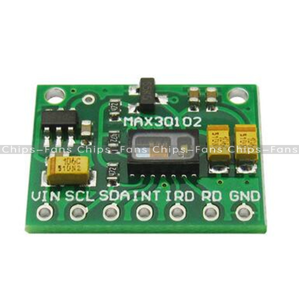 Max low power heart rate oxygen pulse breakout for
