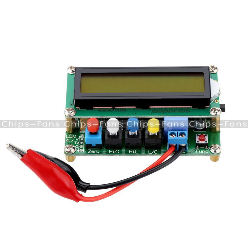 Lc100 A High Precision Digital Inductance Capacitance L C Power Circuit Schematic Of The And Meter Adapter