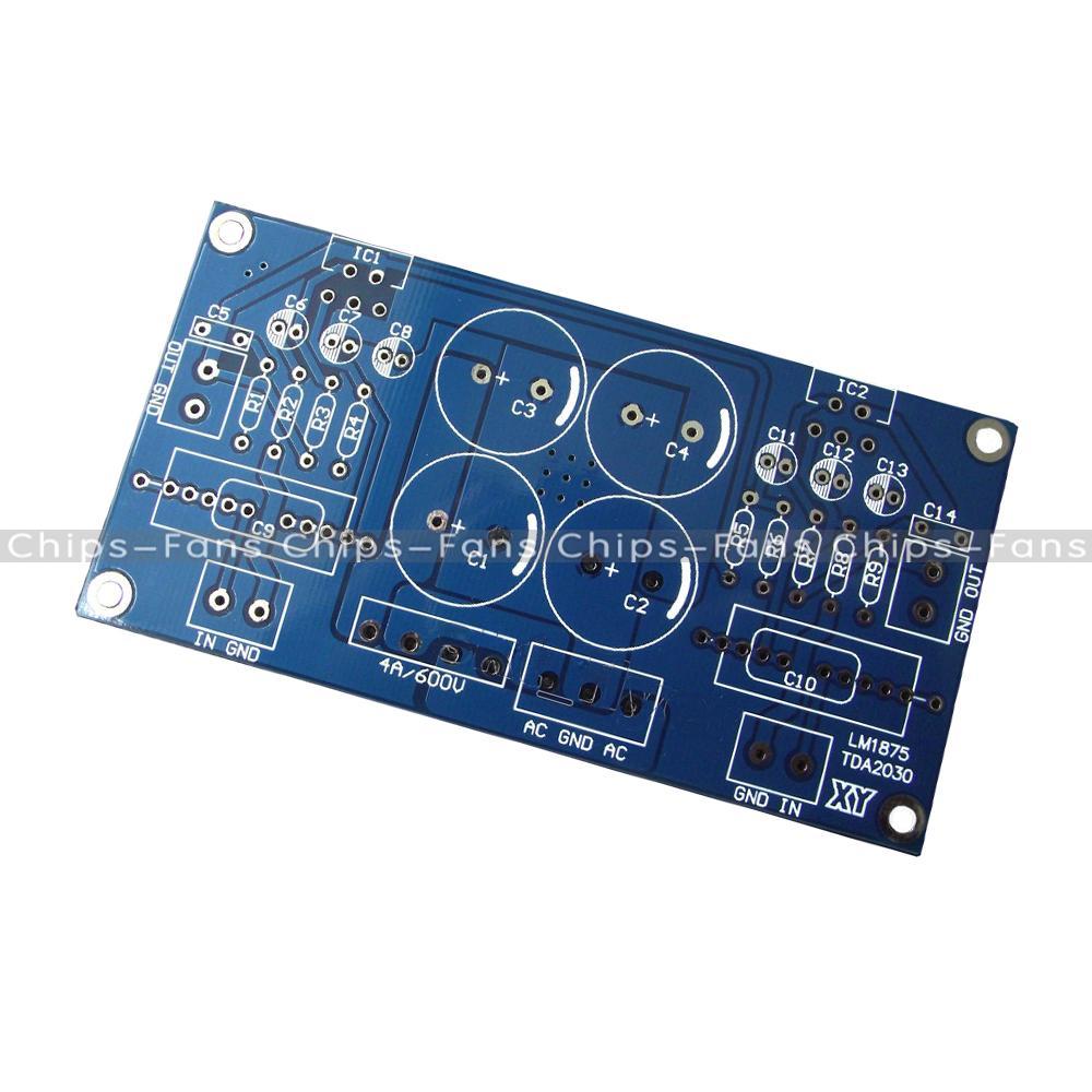Tda2030 Bridged Audio Amplifier Circuit