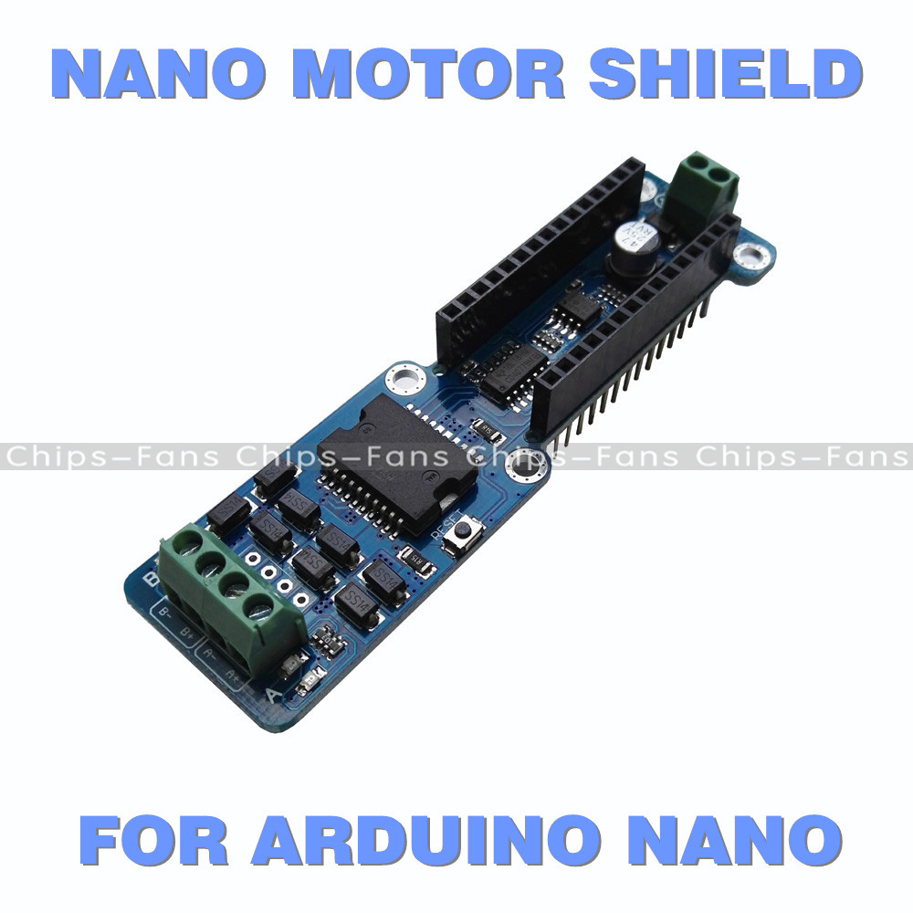 Dual Channel L298P 2A DC Stepper Motor Driver Shield Module For ...