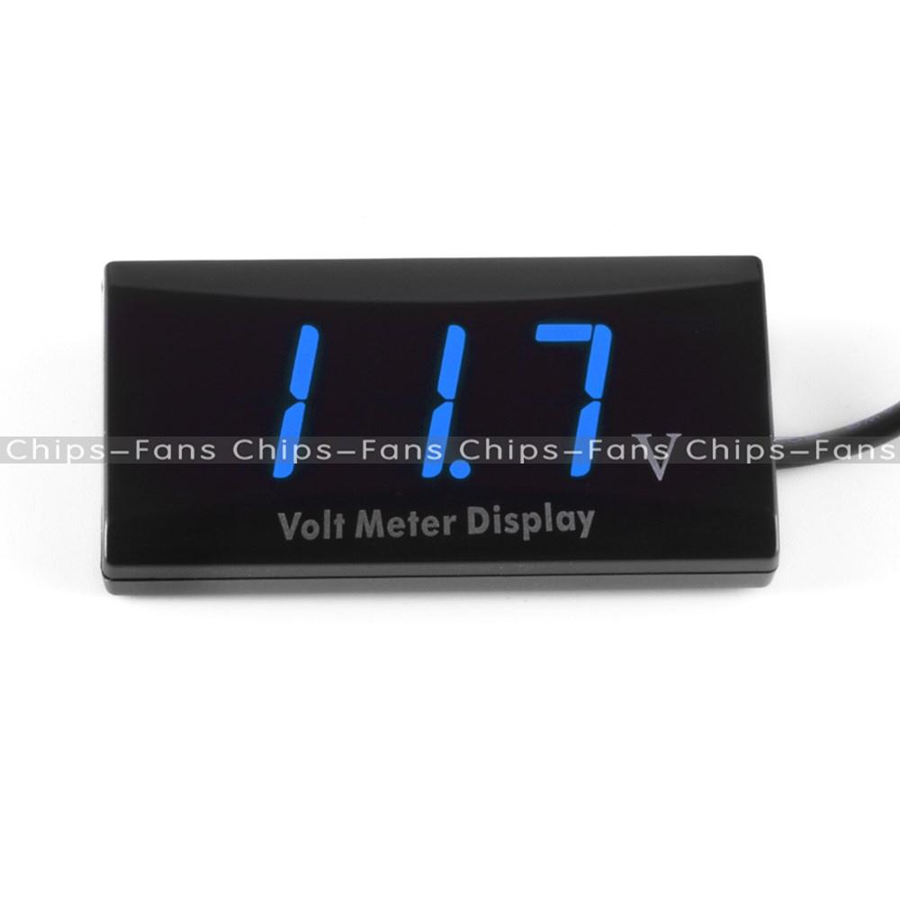 Digital Led Panel : V digital led display voltmeter voltage gauge panel