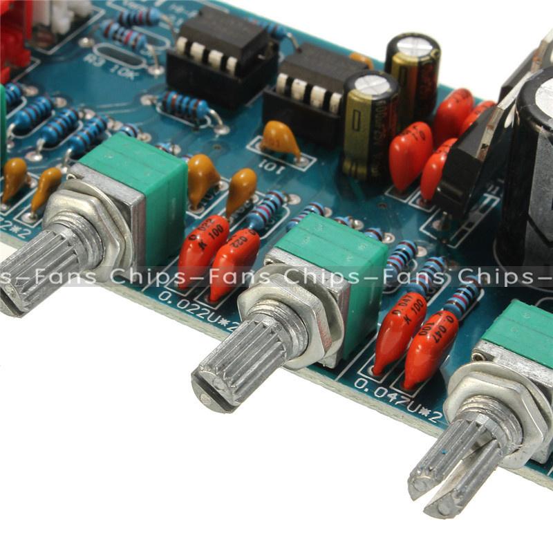 Low Noise Pre Tone Control Circuit Using Ne55532