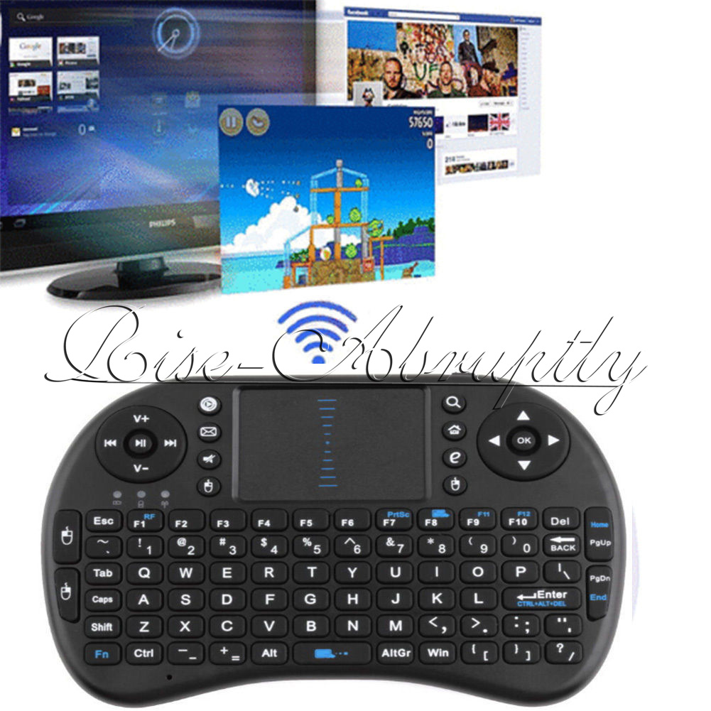 Portable Mini I8 Wireless Keyboard For Samsung Smart TV PC