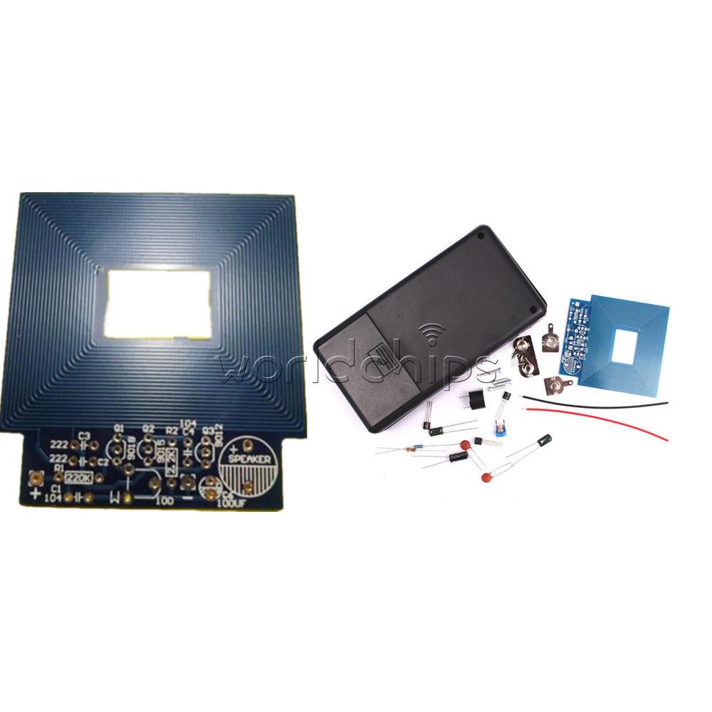 Simple 3v 5v Metal Detector Locator Dc Electronic Production Circuit Diy Kit Shell