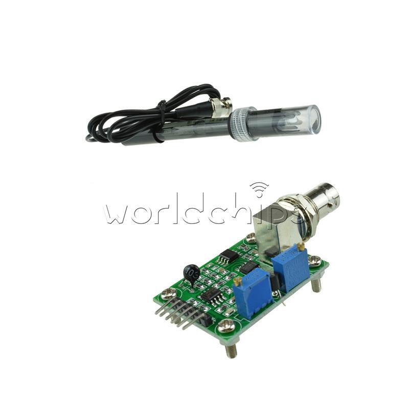 Liquid ph value detect sensor module electrode